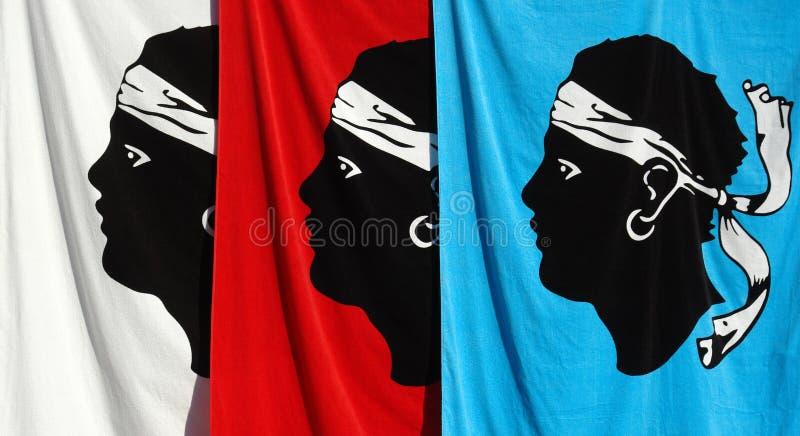 可西嘉岛符号 库存照片