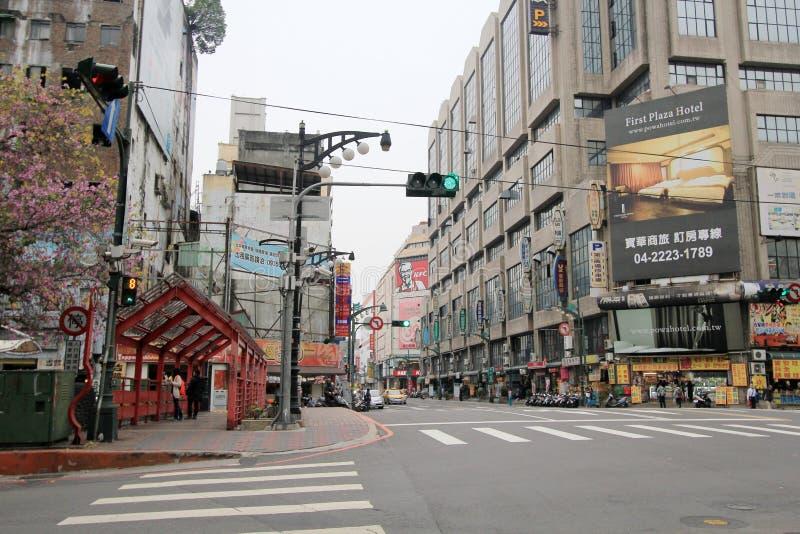 台中街道视图 库存照片
