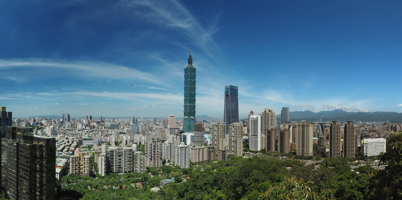 台北台湾 免版税库存图片