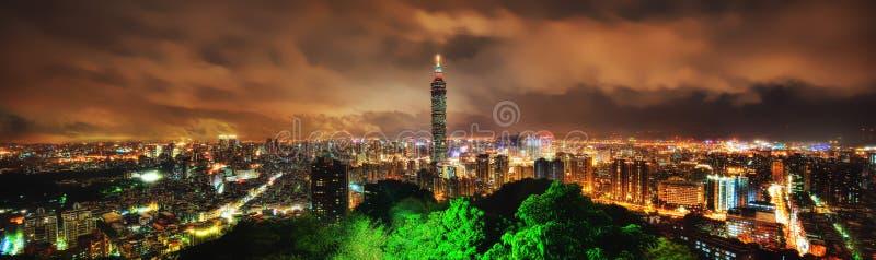 台北地平线台湾 库存图片