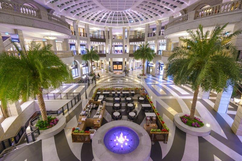 台北,台湾购物中心 库存照片