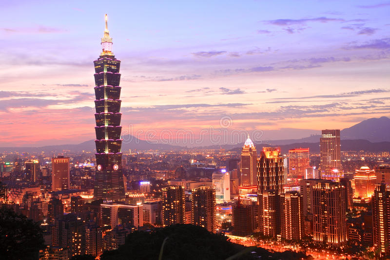台北101,台湾 库存照片