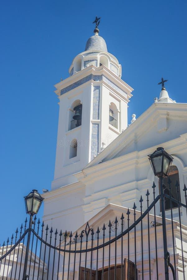 台尔Pilar教会在布宜诺斯艾利斯,阿根廷 免版税库存图片