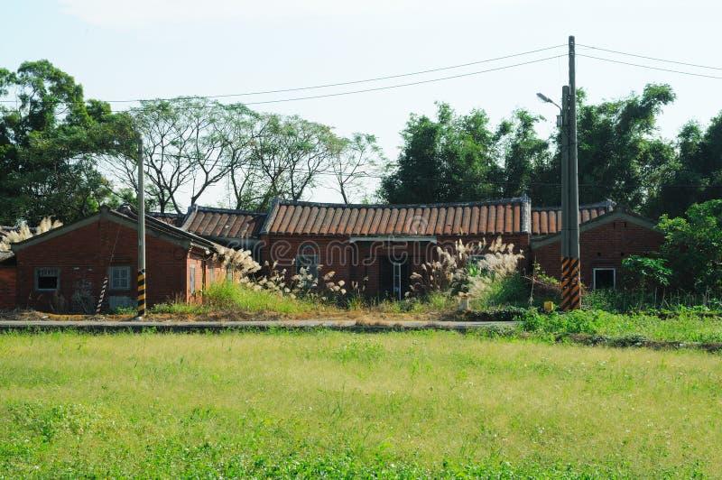 台湾传统房子 库存照片