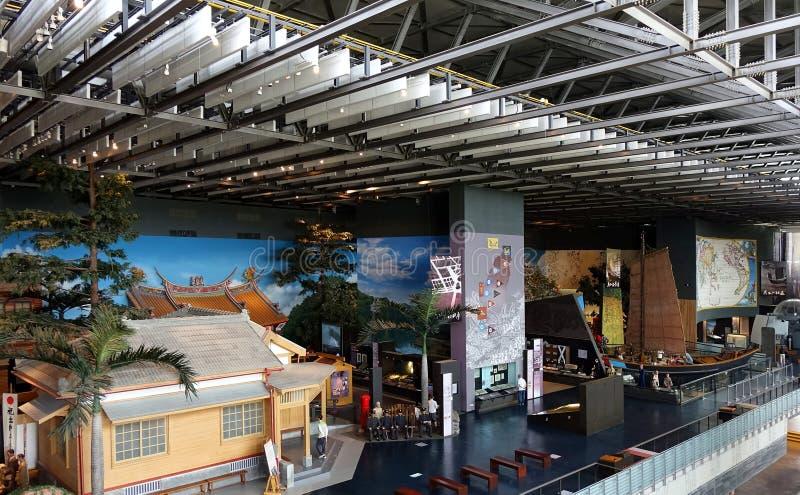 台湾历史国家博物馆的内部看法  库存图片