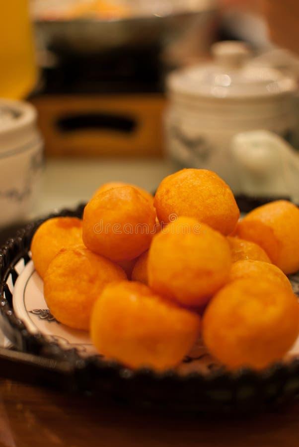 台湾土豆起始者盘 免版税库存照片