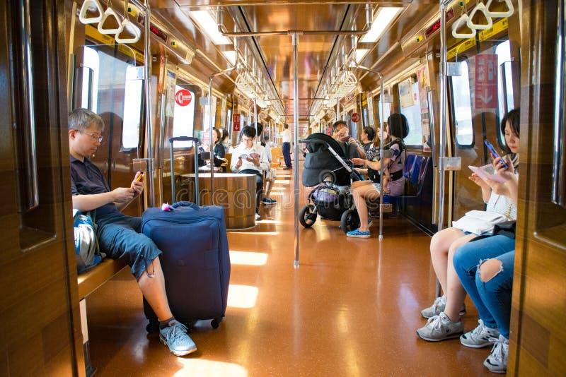 台湾地铁 库存图片