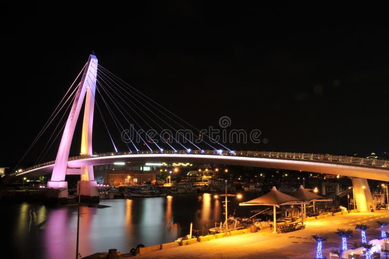 台湾恋人的桥梁 库存图片