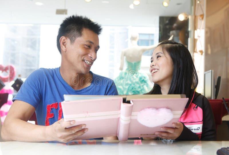 台湾聚光灯:婚礼演播室 免版税图库摄影