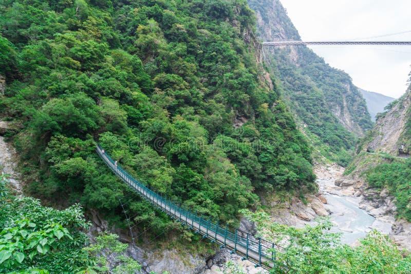 台湾花莲太鲁阁国家公园太鲁阁峡谷 图库摄影