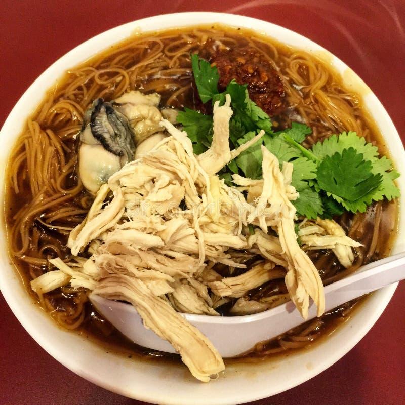 台湾著名牡蛎misua 免版税库存照片