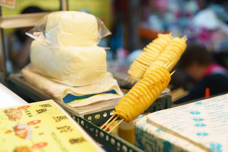 台湾街食物 库存图片