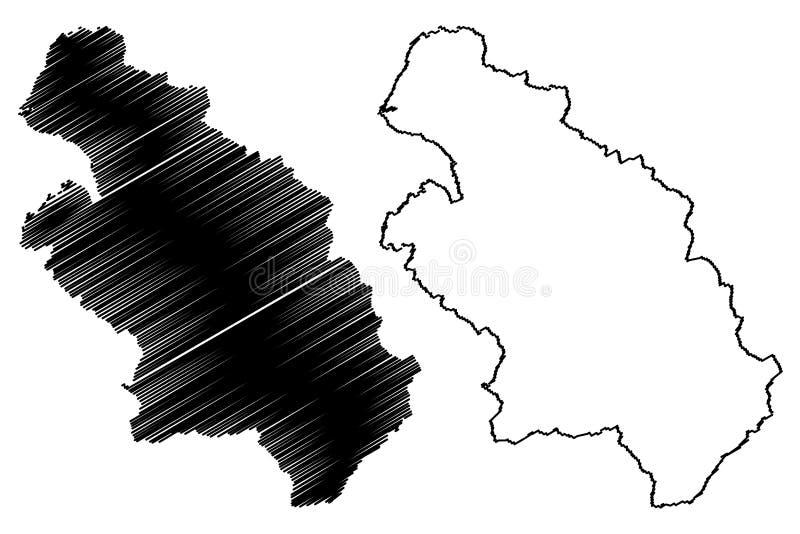 台湾,中华民国,ROC,县新竹县管理部门映射传染媒介例证,杂文剪影 皇族释放例证