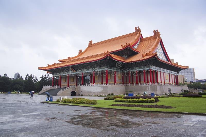 台湾Tapei纪念公园国家戏院  库存图片