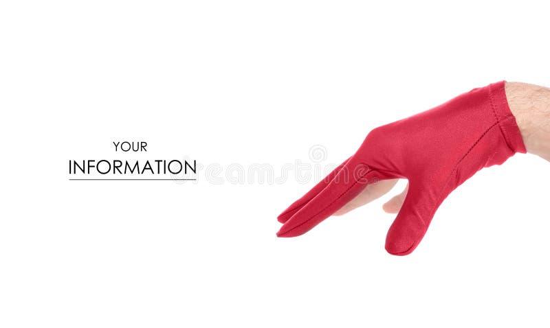 台球样式的手套 库存图片