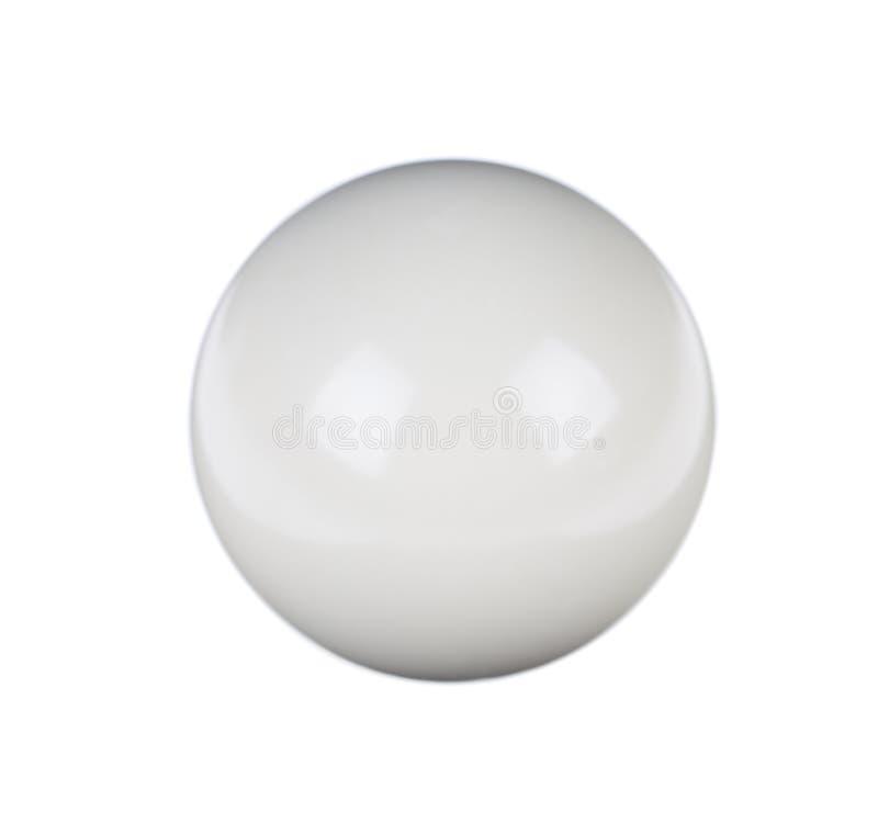 台球的发光的球 库存图片