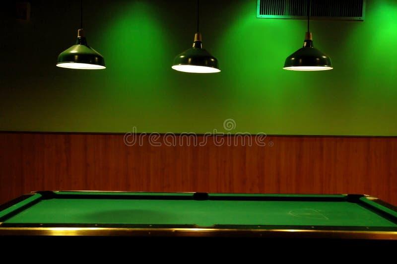 台球落袋撞球 免版税库存照片