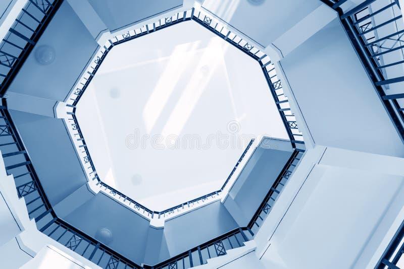 台阶的自转 免版税库存照片