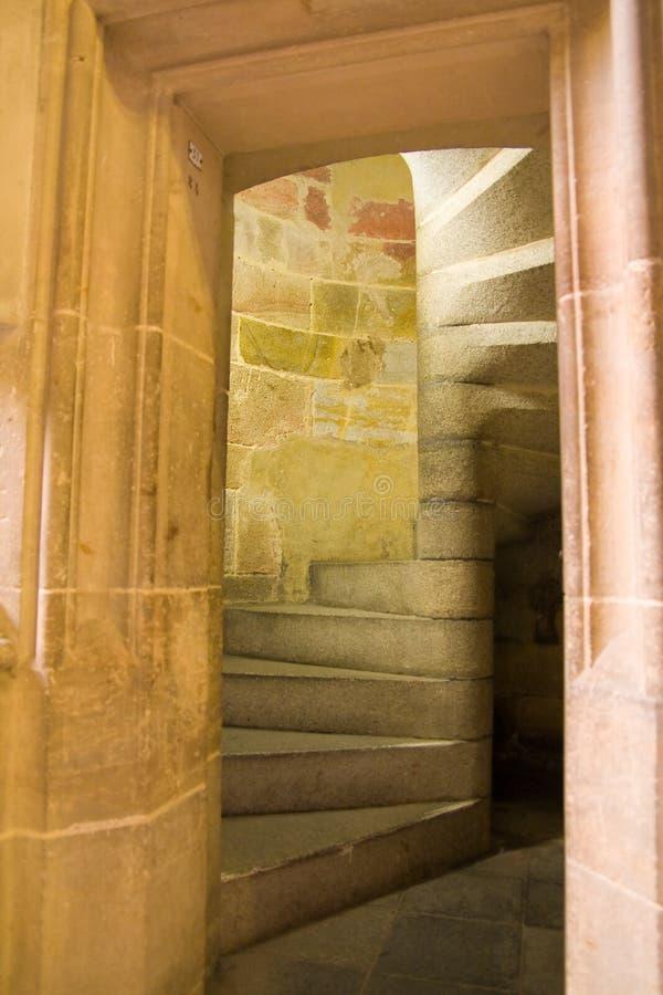 台阶石头 图库摄影