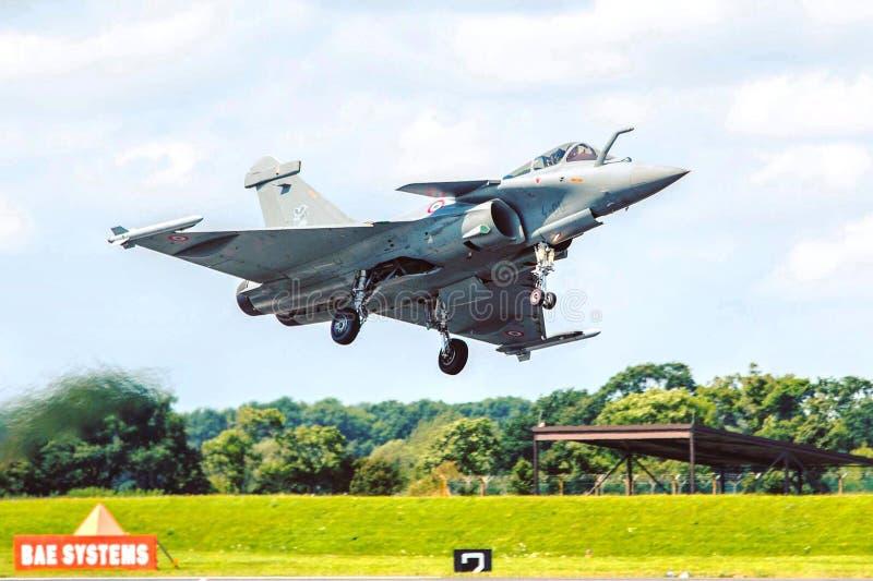 台风欧洲喷气式歼击机 免版税库存图片