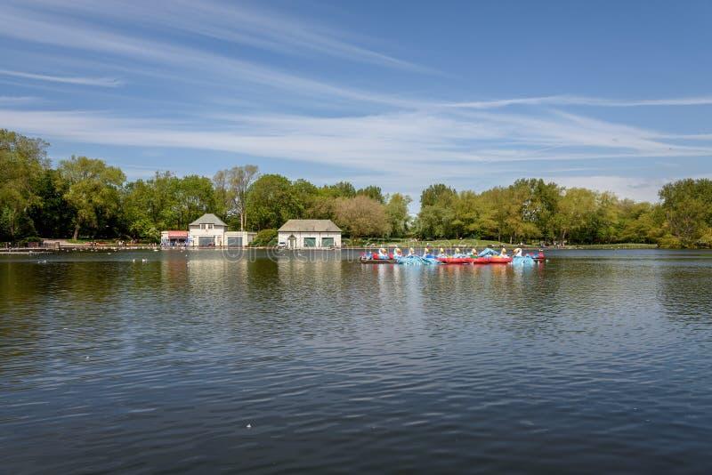 史丹利公园布莱克浦 免版税库存图片