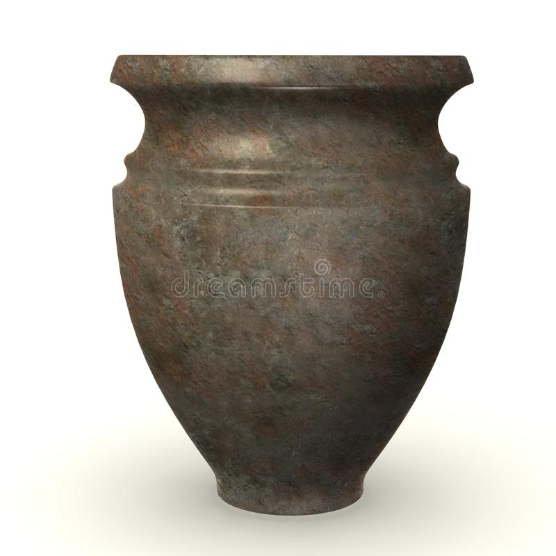 史前花瓶 向量例证