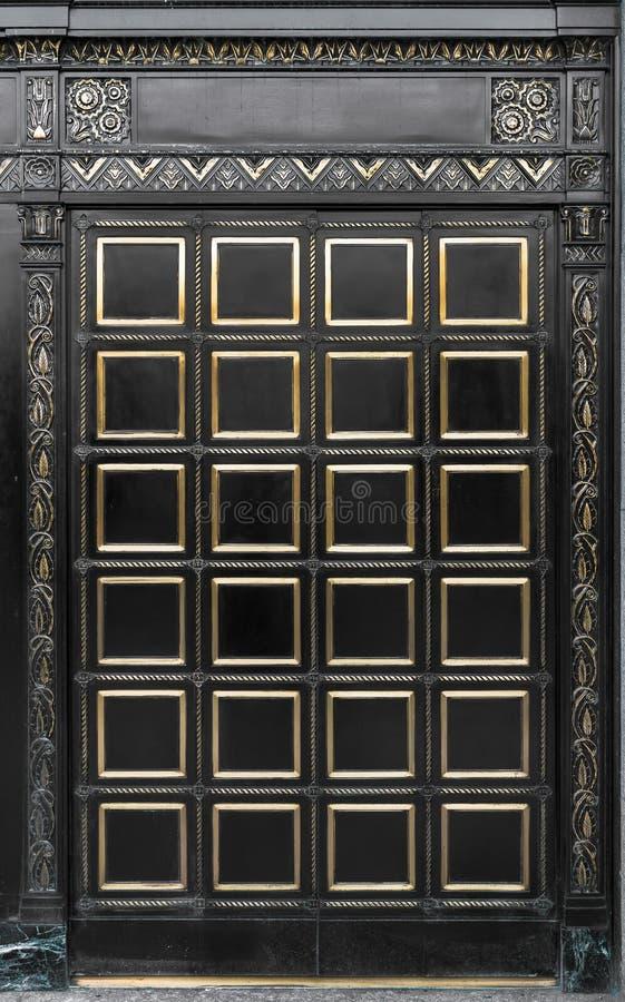史密斯大厦门在阿尔巴尼 免版税库存图片