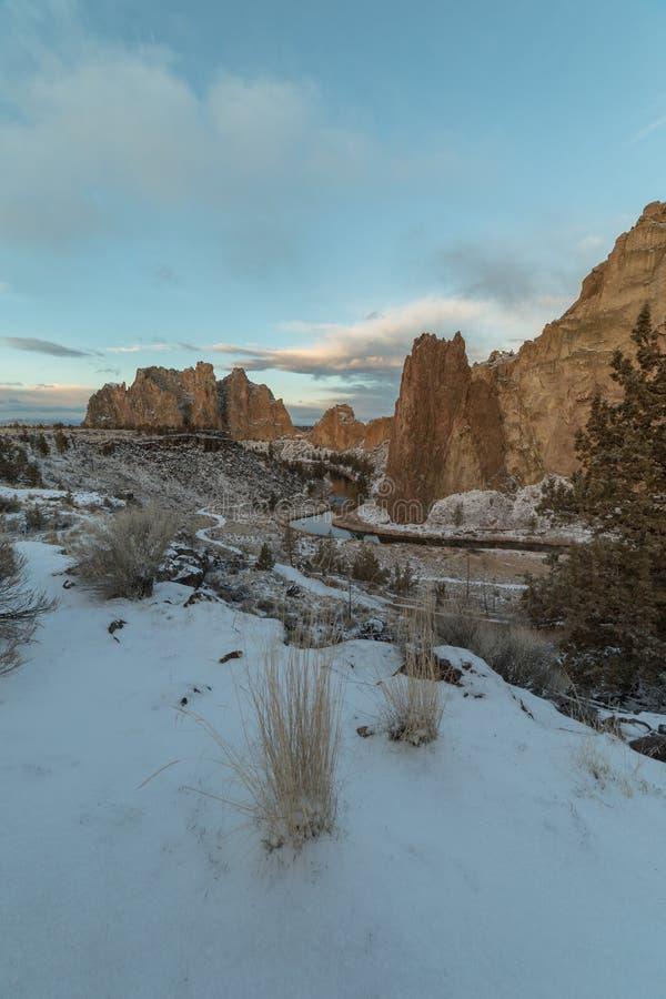 史密斯岩石国家公园 免版税库存图片