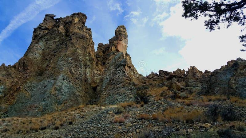 史密斯岩石尖顶  库存图片