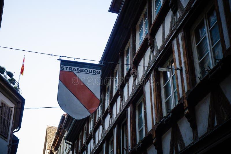 史特拉斯堡-法国 库存图片