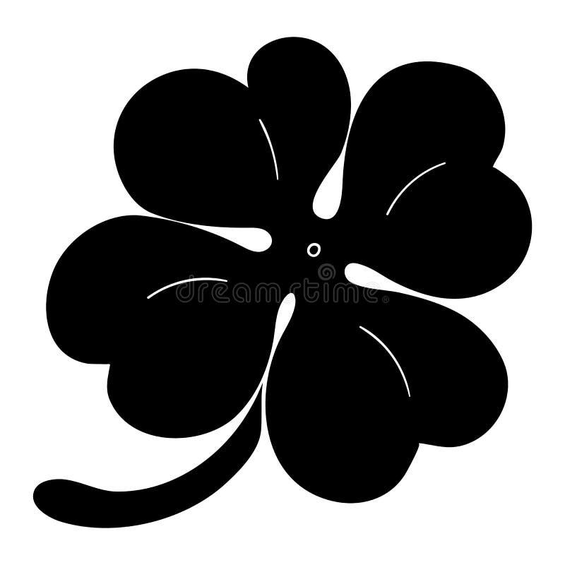 叶子三叶草标志象 圣帕特里克标志 概念许多生态的图象我的投资组合 平的设计样式 投反对票 库存例证