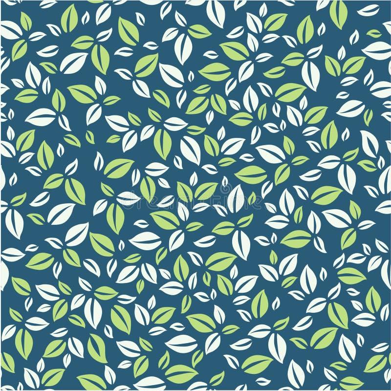 叶子样式 简单的叶子样式 您的自然样式 皇族释放例证