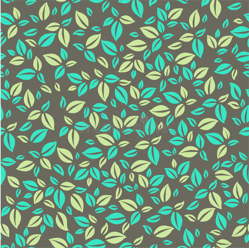 叶子样式 简单的叶子样式 皇族释放例证