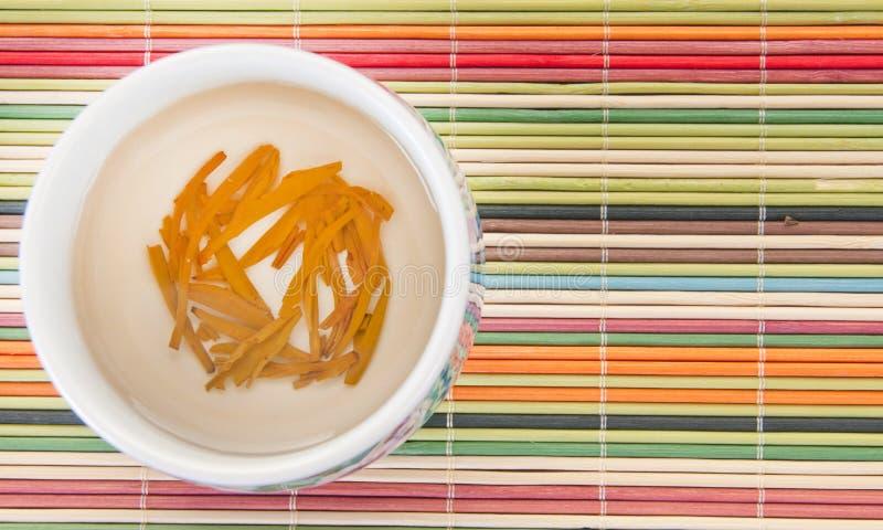 叶子疏松茶 库存图片