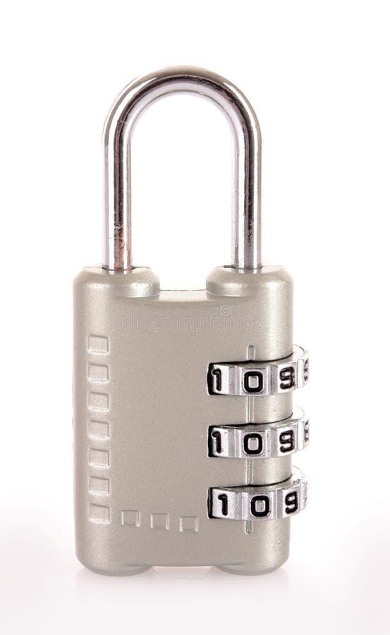号码锁 免版税库存图片