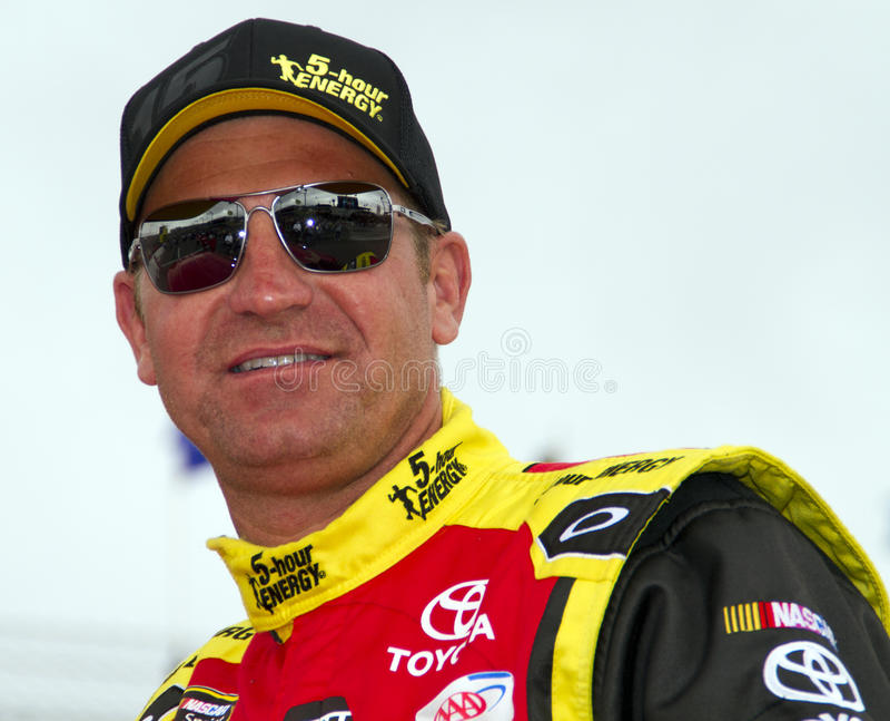 NASCAR Sprint杯Clint Boyer 免版税图库摄影