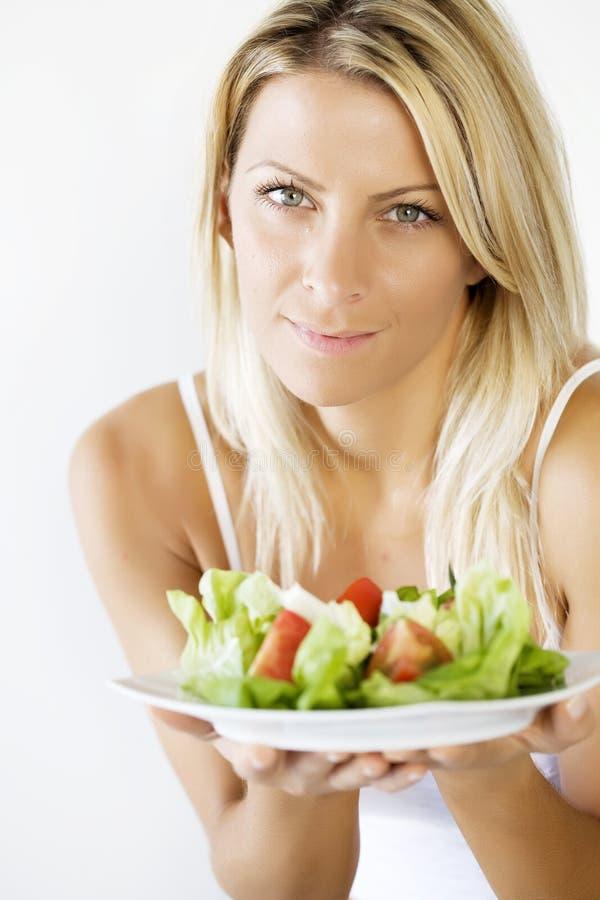 吃健康 库存照片
