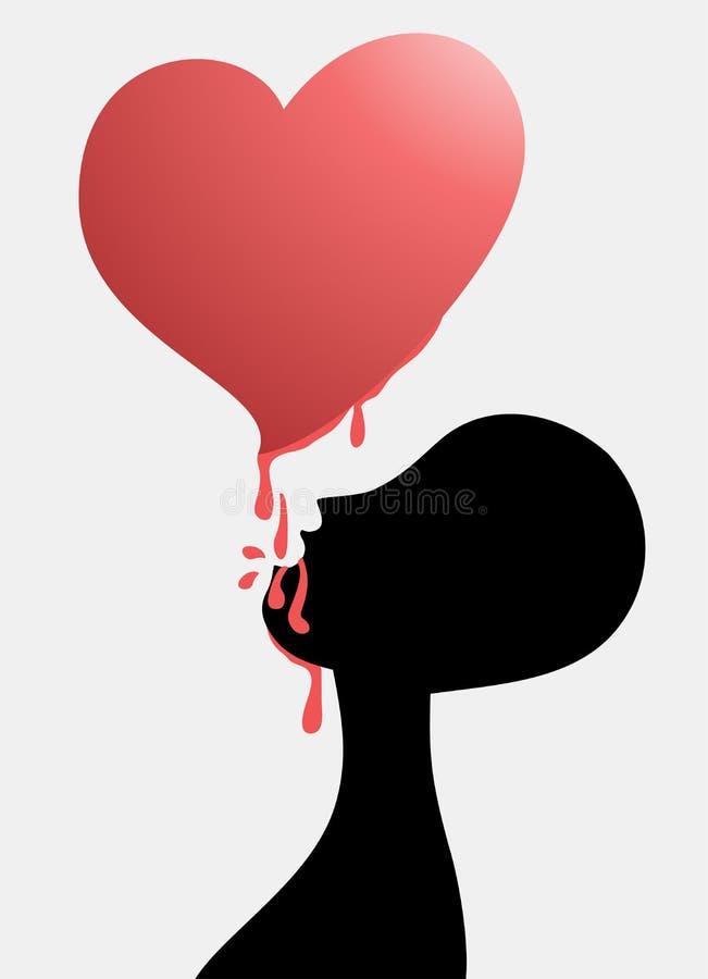 Download 吃心脏 向量例证. 插画 包括有 欲望, 钟爱, 崇拜, 温暖, 激情, 剪影, 伤害, 燕子, 影子, 液体 - 30337844