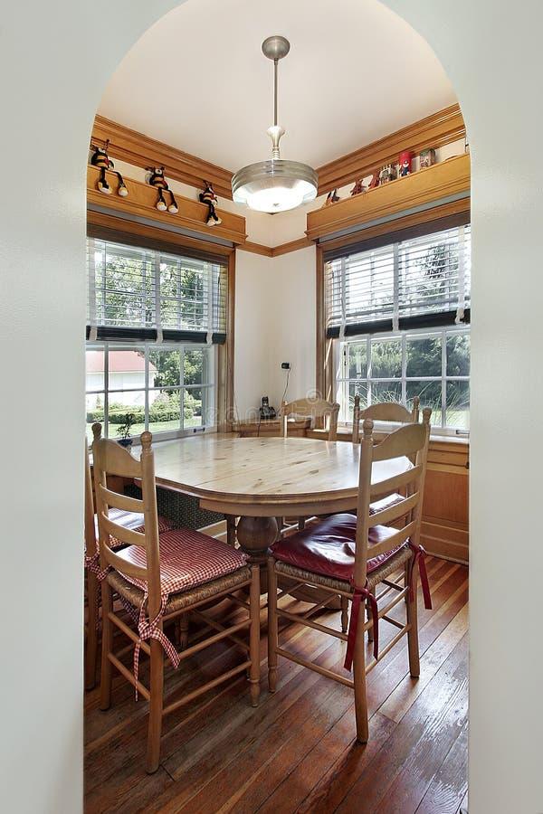 吃楼层的区木 免版税库存图片