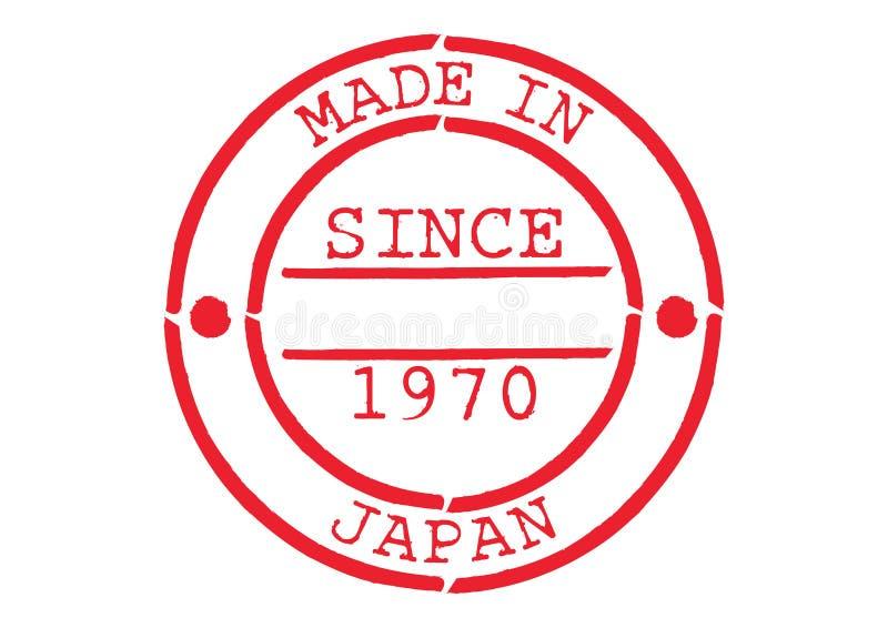 各种各样的不加考虑表赞同的人日本制造 库存例证