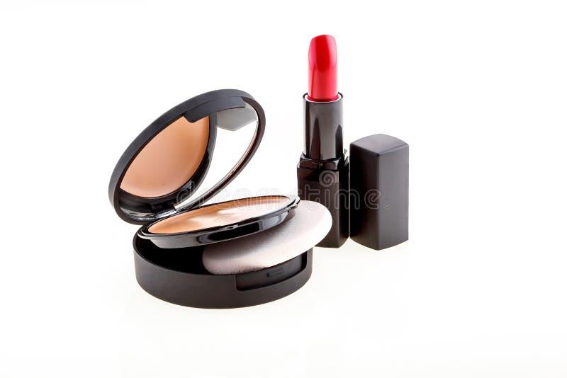 各种各样的化妆用品 库存照片