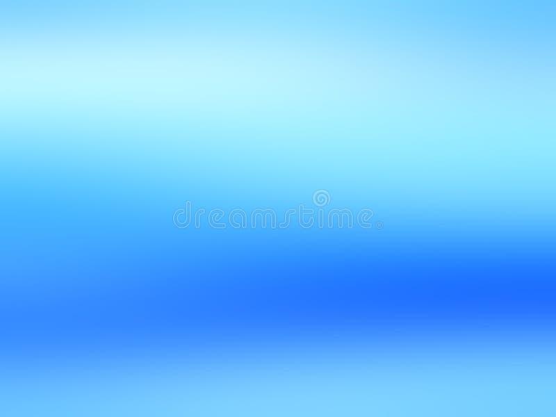 各种各样的设计艺术品的蓝色软的抽象背景 免版税库存图片