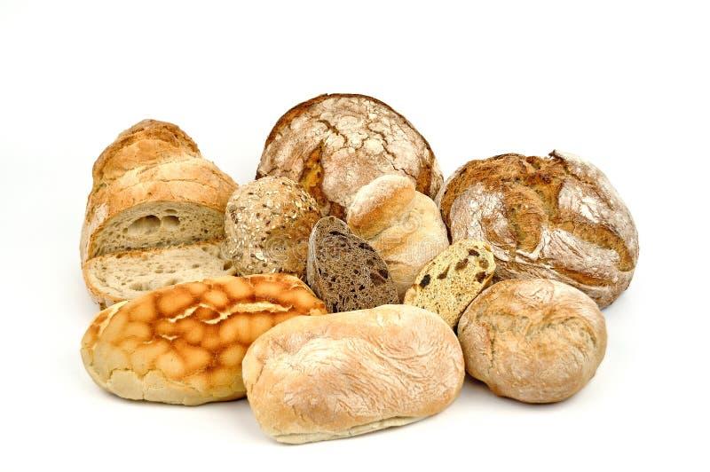 各种各样的面包。 库存照片