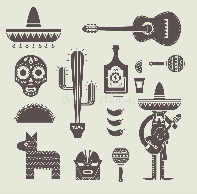 Download 墨西哥象 向量例证. 插画 包括有 吉他, 当事人, 拉丁美洲人, 射击, 查出, 绿色, 辣椒, 屏蔽 - 30329148