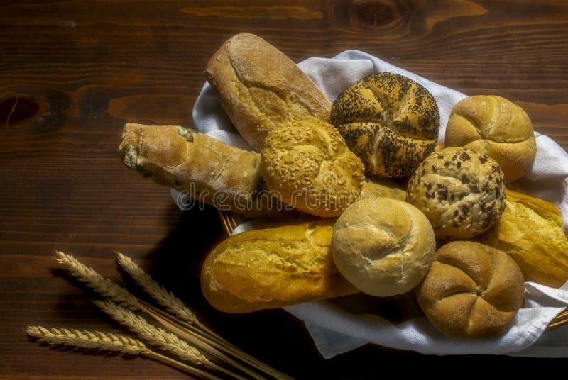 各种面包 库存图片