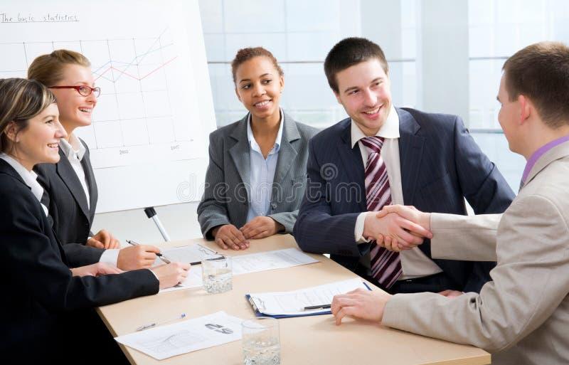 合伙企业 免版税库存图片