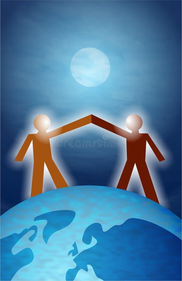 合伙企业 向量例证