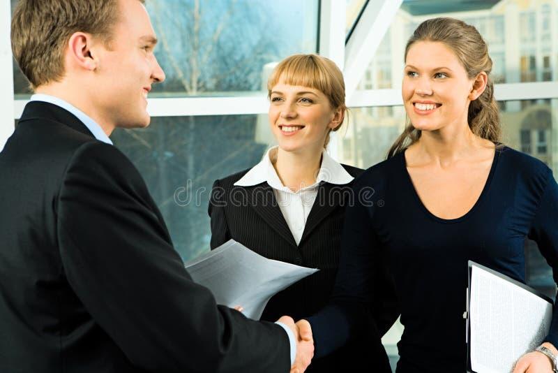 合伙企业 免版税库存照片