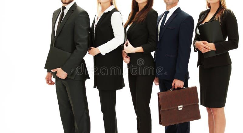 合作的概念 友好和可靠企业队 免版税库存照片