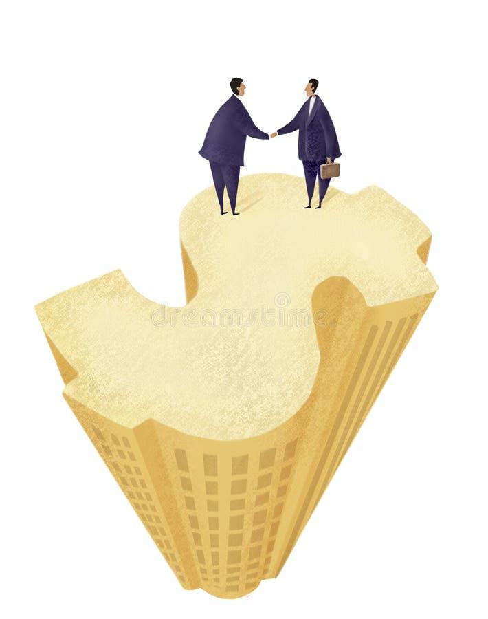 合作货币 免版税库存图片